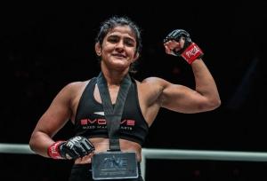 Ritu aims for second win in MMA
