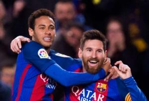 Neymar is Messi's 'replacement'
