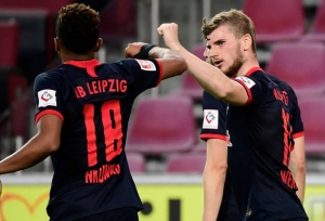 Leipzig return to winning ways in Koln