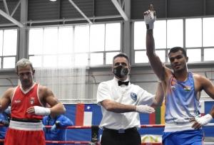 Krishan beats Olympics bronze medallist