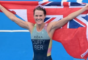 Duffy wins Bermuda's first-ever gold