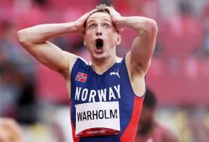 Warholm breaks 46-second barrier