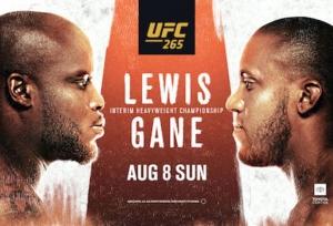 UFC 265: Fight Card, Schedule & TV info