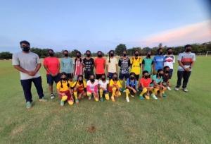 La Liga helps Anantapur Football League