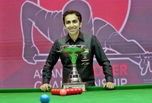 Pankaj retains Asian snooker title