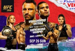 UFC 266: Fight Card, Schedule & TV info