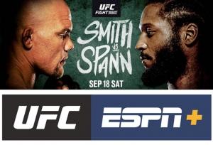 Smith vs Spann to headline UFC Vegas 37