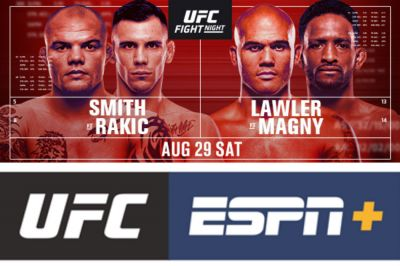 Light Heavyweight Finishers Round Out Stacked Ufc Action In August Mykhel
