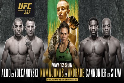 UFC 237: Namajunas vs  Andrade preview, schedule and fight