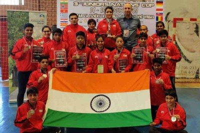 Nation S Cup Boxing India Juniors Excel Mykhel