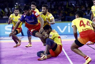 Pro Kabaddi League 2019: Match 21: Telugu Titans Vs UP