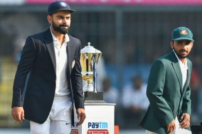 India Vs Bangladesh Day Night Test At Eden Gardens All You Need To Know About India S First Ever Pink Ball Test Mykhel