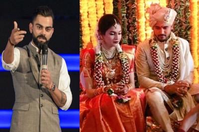 Manish Pandey Wedding Virat Kohli Rohit Sharma Wish India