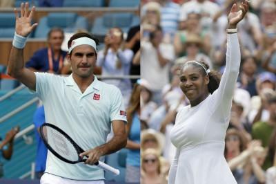 Federer Serena Headline Aussie Bushfire Charity Match Mykhel