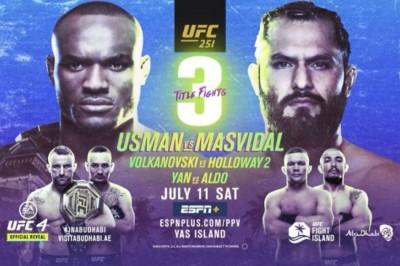 Ufc 251 Usman Vs Masvidal Fight Card Date Start Time And Where To Watch Mykhel