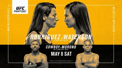 Watch UFC Fight Night Rodriguez vs. Waterson 5/8/21