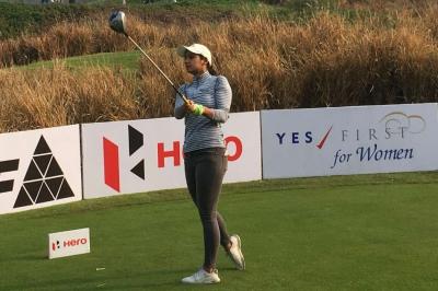 Tavleen, Neha and Tvesa in three-way lead on opening day
