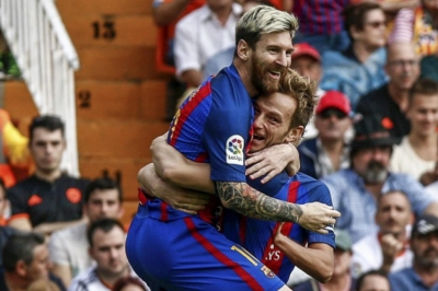 Messi is the best in history: Ivan Rakitic