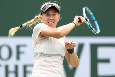 Anisimova to face Muguruza