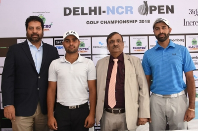 Top stars in action at Delhi-NCR Open