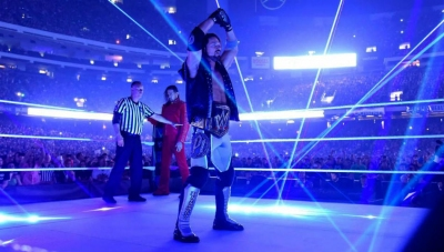 Spoiler on Extreme Rules WWE title match