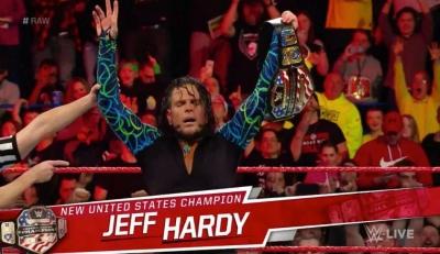 Jeff Hardy injured during dark match?