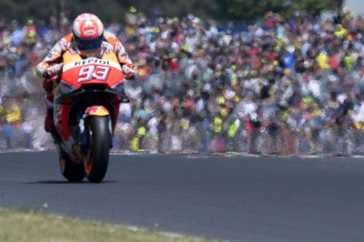 Marquez extends lead at Le Mans