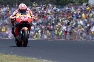 Marquez extends lead at Le Mans