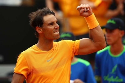 Nadal back to dominant best as Thiem, Dimitrov fall