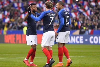 Griezmann is the boss, says Mbappe