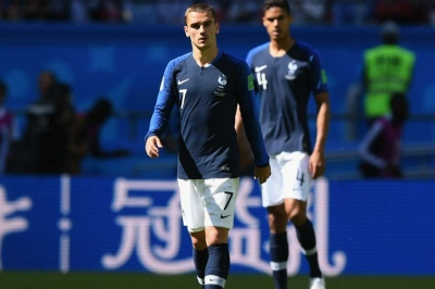 Deschamps discusses Griezmann