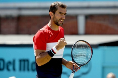 Cilic through to face Kyrgios