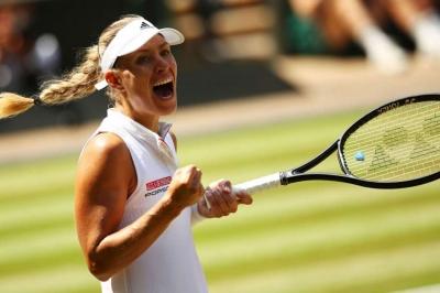 Angelique Kerber back in Wimbledon final