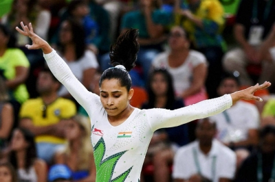 Dipa finishes 5th in beam final