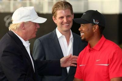 Tiger Woods talks Trump friendship