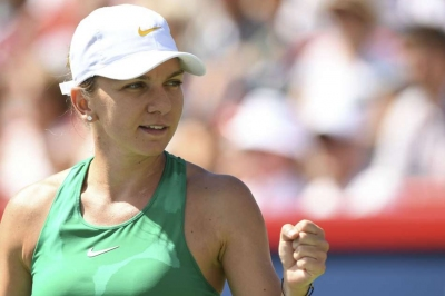 Halep marches into final