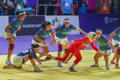 Kabaddi: Women's team settles for silver