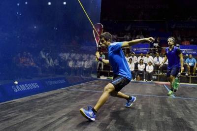 Saurav Ghosal returns with bronze