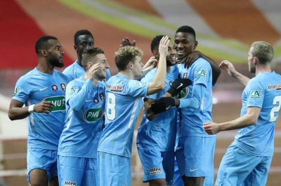Monaco out of Coupe de France