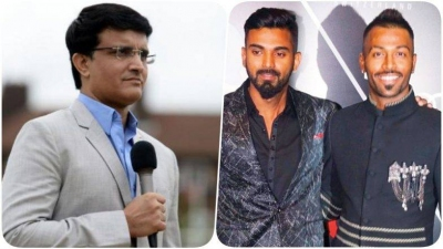 Ganguly speaks on Pandya-Rahul row