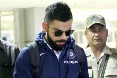 Team India arrives in Auckland: Watch