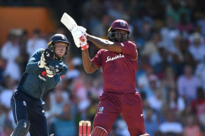 Windies break ODI sixes record