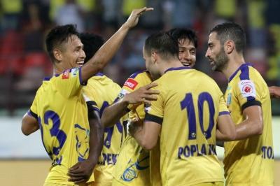 Kerala Blasters end win drought in style
