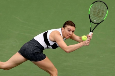 Halep books Dubai quarter-final
