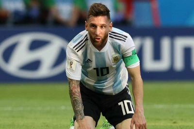Messi to start for Argentina