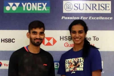 Srikanth, Sindhu aiming for India Open
