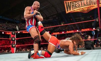 Kurt Angle reveals opponent for WM35