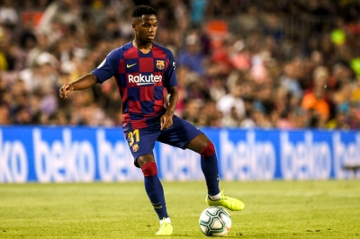 Ansu Fati becomes CL's youngest scorer