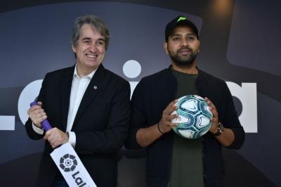 Rohit named LaLiga brand ambassador