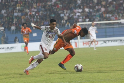 I-League: Bagan 6-2 Neroca